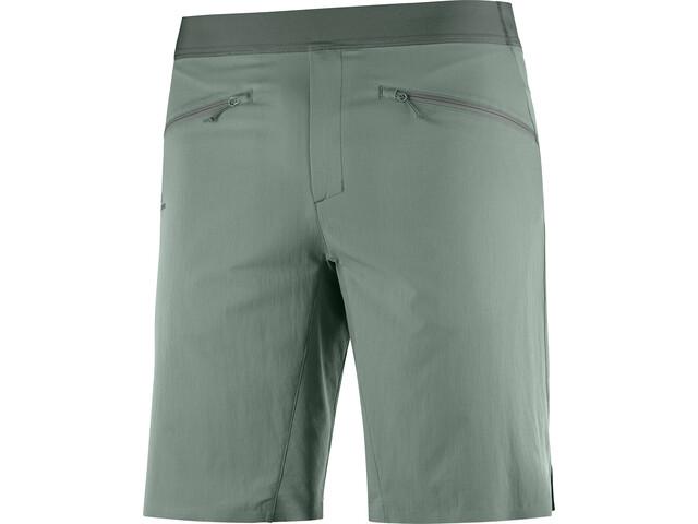 Salomon Wayfarer Pull On Shorts Heren, groen